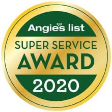 MCG Construction Angies List Service Award 2020